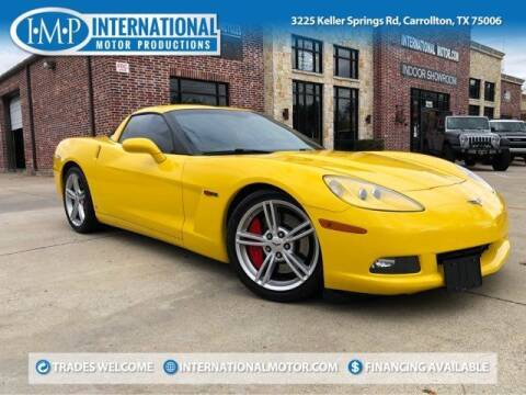 2008 Chevrolet Corvette for sale at International Motor Productions in Carrollton TX