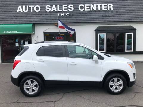 2016 Chevrolet Trax for sale at Auto Sales Center Inc in Holyoke MA