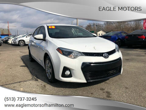 2014 Toyota Corolla for sale at Eagle Motors in Hamilton OH