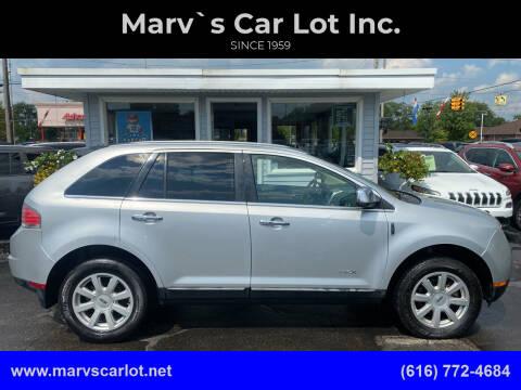2010 Lincoln MKX for sale at Marv`s Car Lot Inc. in Zeeland MI