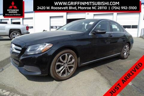 2016 Mercedes-Benz C-Class for sale at Griffin Mitsubishi in Monroe NC