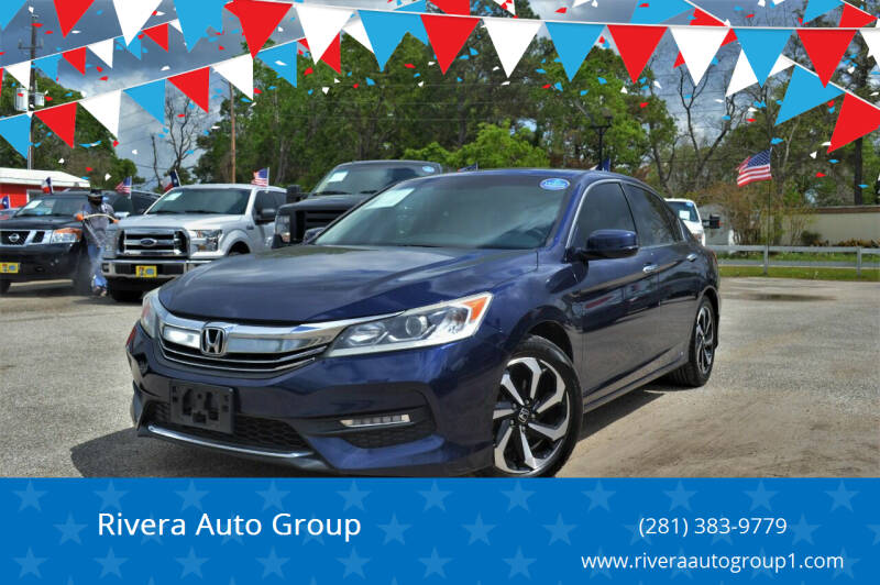 2016 Honda Accord for sale at Rivera Auto Group in Spring TX