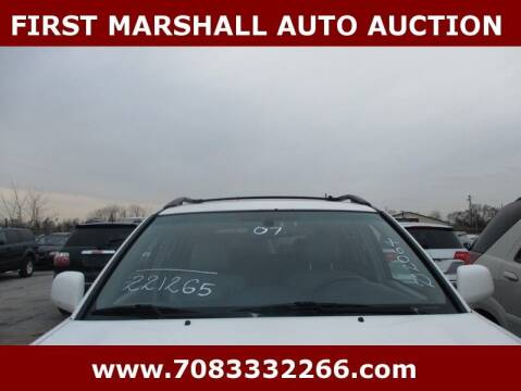 2007 Toyota Highlander for sale at First Marshall Auto Auction in Harvey IL
