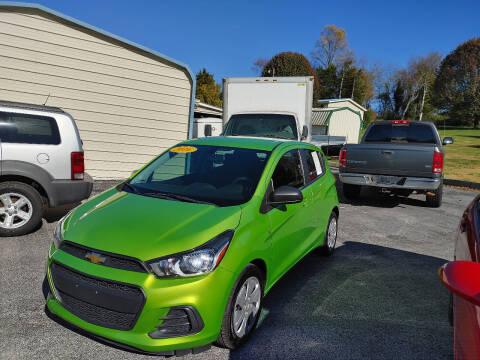 2016 Chevrolet Spark for sale at K & P Used Cars, Inc. in Philadelphia TN