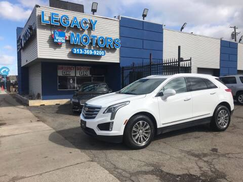 2018 Cadillac XT5 for sale at Legacy Motors in Detroit MI