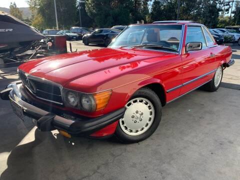 1987 Mercedes-Benz 560-Class for sale at Allen Motors, Inc. in Thousand Oaks CA