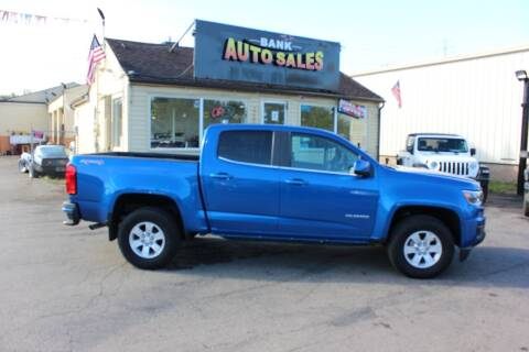 2018 Chevrolet Colorado for sale at BANK AUTO SALES in Wayne MI