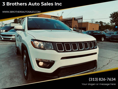 2019 Jeep Compass for sale at 3 Brothers Auto Sales Inc in Detroit MI