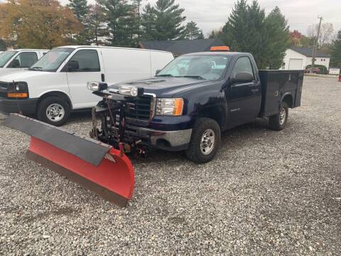 2010 GMC Sierra with Plow for sale at Leonard Enterprise Used Cars in Orion MI