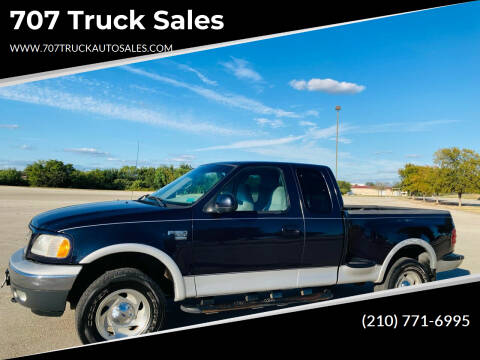 2000 Ford F-150 for sale at 707 Truck Sales in San Antonio TX