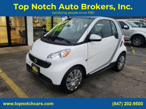 2013 Smart fortwo for sale at Top Notch Auto Brokers, Inc. in Palatine IL