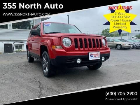 2016 Jeep Patriot for sale at 355 North Auto in Lombard IL