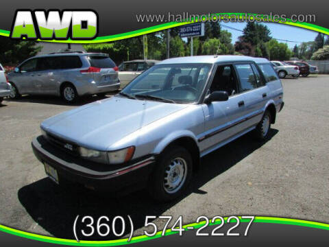 1988 Toyota Corolla for sale at Hall Motors LLC in Vancouver WA