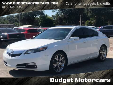 2012 Acura TL for sale at Budget Motorcars in Tampa FL