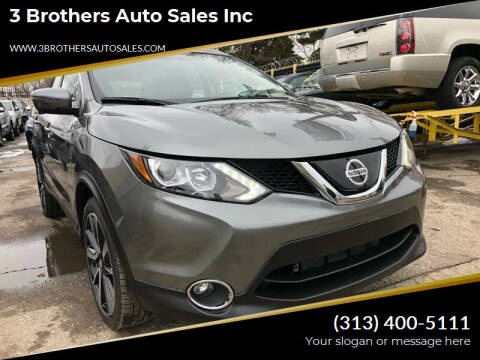 2018 Nissan Rogue Sport for sale at 3 Brothers Auto Sales Inc in Detroit MI