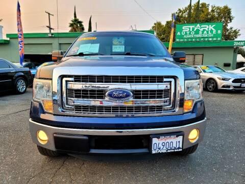 2013 Ford F-150 for sale at Stark Auto Sales in Modesto CA