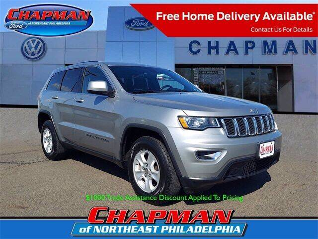 2017 Jeep Grand Cherokee for sale at CHAPMAN FORD NORTHEAST PHILADELPHIA in Philadelphia PA
