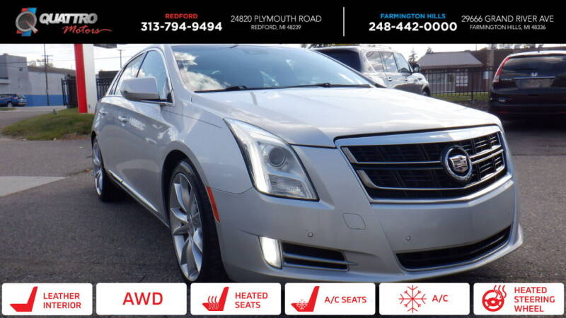 2014 Cadillac XTS for sale at Quattro Motors 2 - 1 in Redford MI