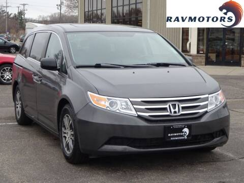 2013 Honda Odyssey for sale at RAVMOTORS 2 in Crystal MN