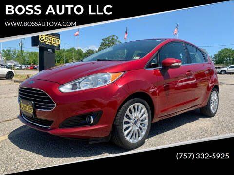 2014 Ford Fiesta for sale at BOSS AUTO LLC in Norfolk VA