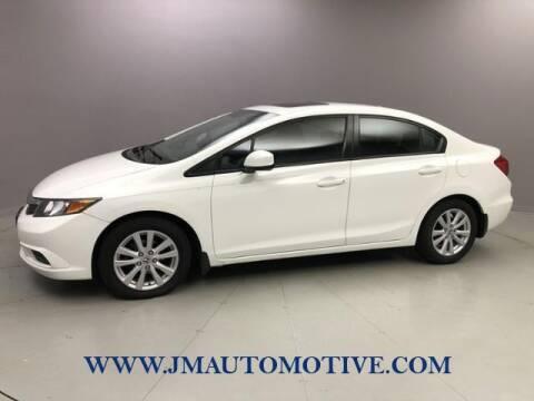 2012 Honda Civic for sale at J & M Automotive in Naugatuck CT