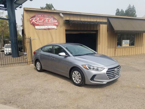 2017 Hyundai Elantra for sale at Rent To Own Auto Showroom LLC - Finance Inventory in Modesto CA