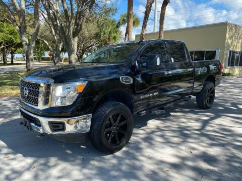 2017 Nissan Titan XD for sale at Ultimate Dream Cars in Wellington FL
