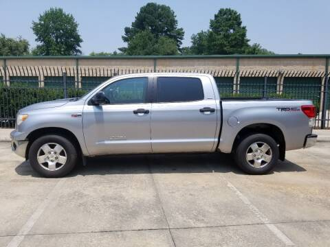 2012 Toyota Tundra for sale at Hollingsworth Auto Sales in Wake Forest NC