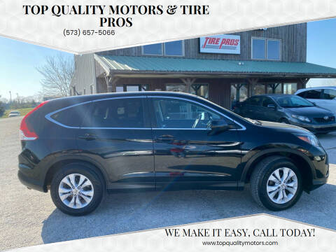 2012 Honda CR-V for sale at Top Quality Motors & Tire Pros in Ashland MO