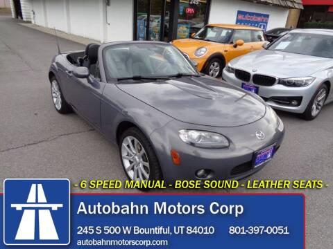 2006 Mazda MX-5 Miata for sale at Autobahn Motors Corp in Bountiful UT