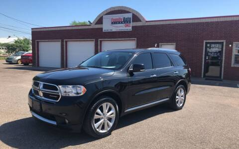 2013 Dodge Durango for sale at Family Auto Finance OKC LLC in Oklahoma City OK