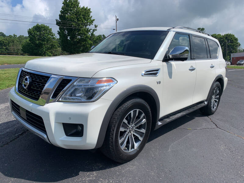 2017 Nissan Armada for sale at Gary Sears Motors in Somerset KY