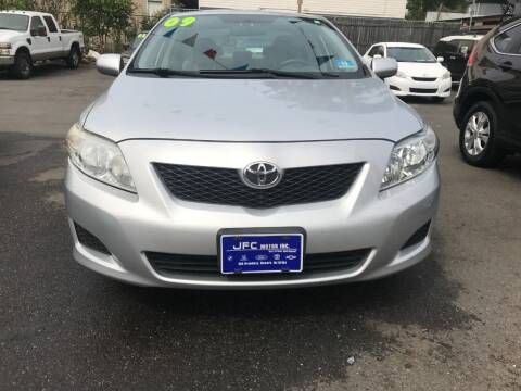 2009 Toyota Corolla for sale at JFC Motors Inc. in Newark NJ