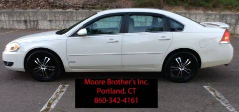 2008 Chevrolet Impala for sale at Moore Brothers Inc in Portland CT