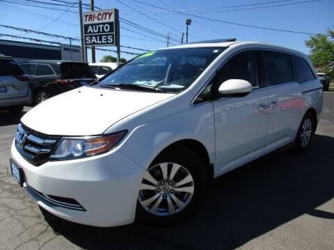 2016 Honda Odyssey for sale at TRI CITY AUTO SALES LLC in Menasha WI