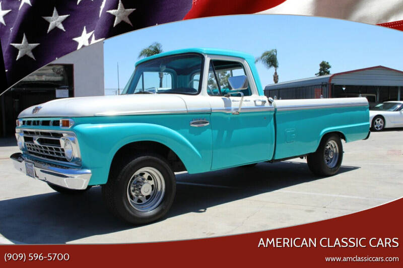 1966 Ford F-250 for sale at American Classic Cars in La Verne CA