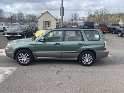 2006 Subaru Forester for sale at FUELIN FINE AUTO SALES INC in Saylorsburg PA