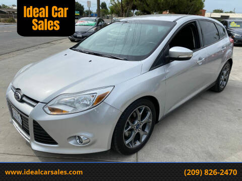 2014 Ford Focus for sale at Ideal Car Sales in Los Banos CA
