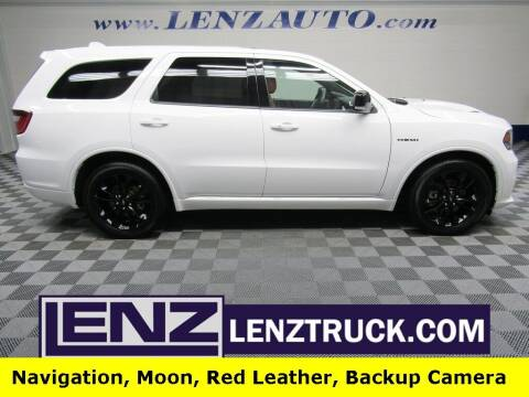 2020 Dodge Durango for sale at LENZ TRUCK CENTER in Fond Du Lac WI