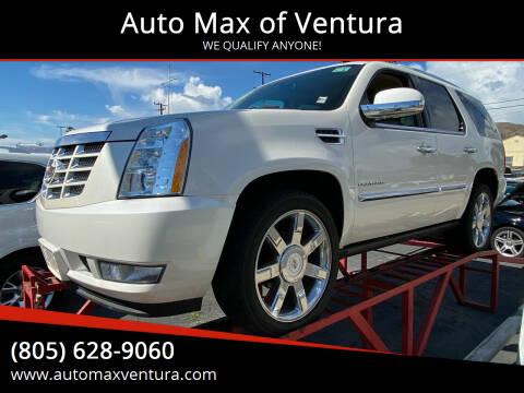 2012 Cadillac Escalade for sale at Auto Max of Ventura - Automax 2 in Ventura CA