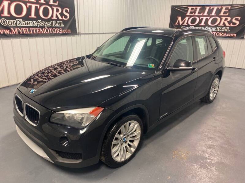 2014 BMW X1 for sale at Elite Motors in Uniontown PA