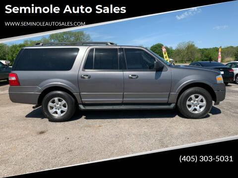 2010 Ford Expedition EL for sale at Seminole Auto Sales in Seminole OK