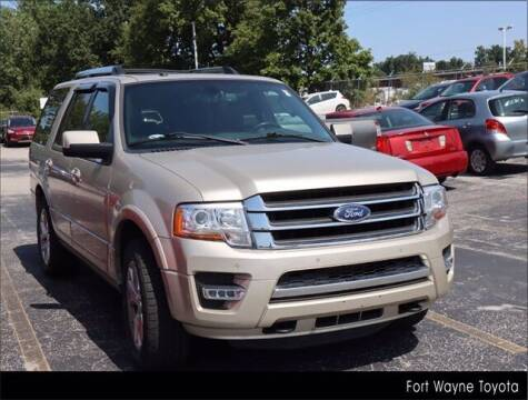 2017 Ford Expedition for sale at BOB ROHRMAN FORT WAYNE TOYOTA in Fort Wayne IN
