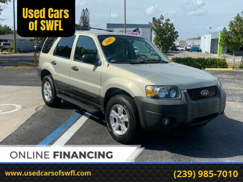 2005 Ford Escape for sale at Used Cars of SWFL in Fort Myers FL