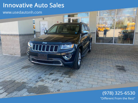 2014 Jeep Grand Cherokee for sale at Innovative Auto Sales in North Hampton NH