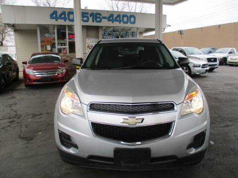 2012 Chevrolet Equinox for sale at Elite Auto Sales in Willowick OH