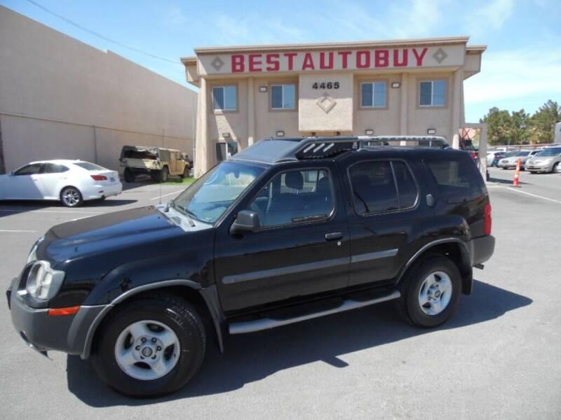 2002 Nissan Xterra for sale at Best Auto Buy in Las Vegas NV