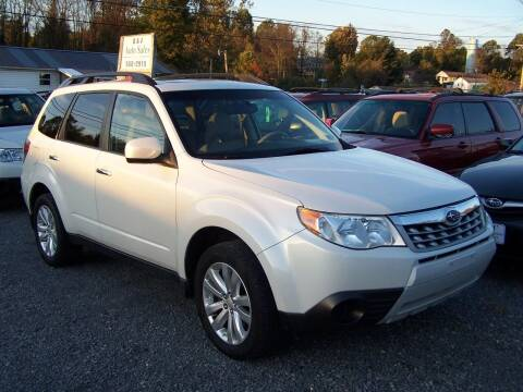 2011 Subaru Forester for sale at B & J Auto Sales in Tunnelton WV