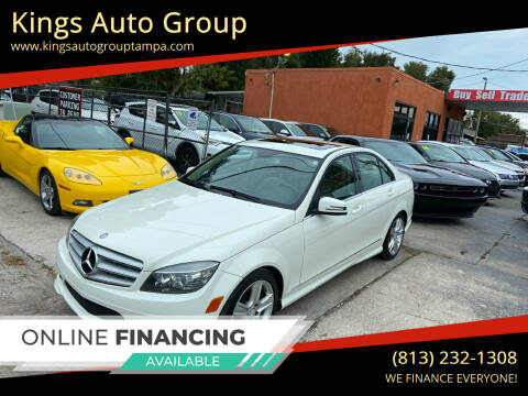 2011 Mercedes-Benz C-Class for sale at Kings Auto Group in Tampa FL