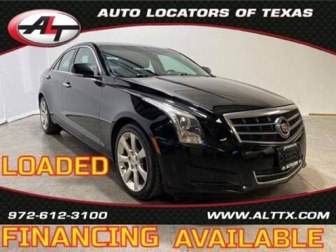 2014 Cadillac ATS for sale at AUTO LOCATORS OF TEXAS in Plano TX